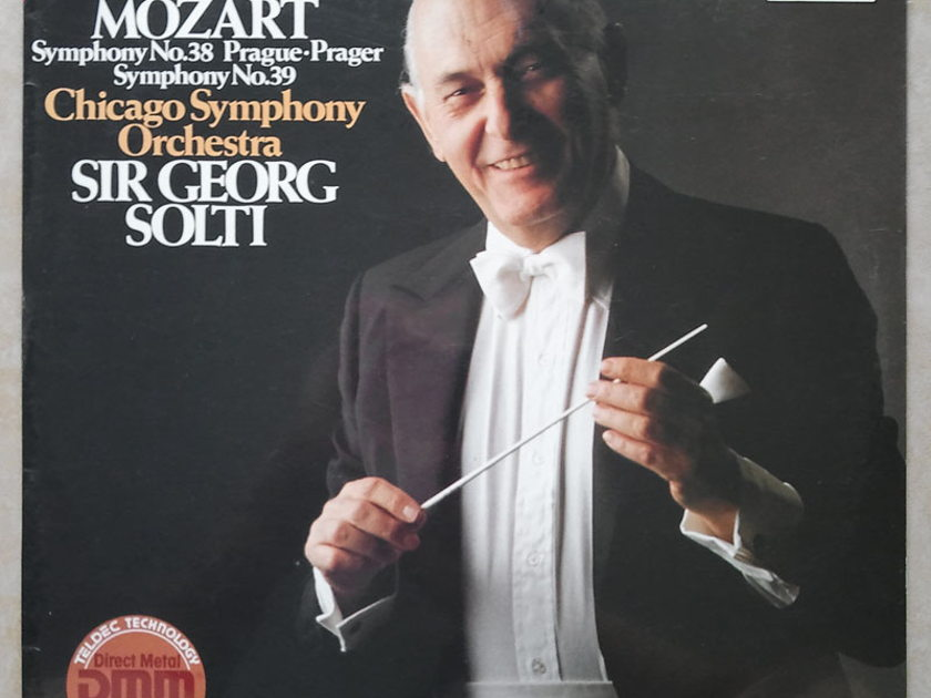 Sealed/Decca/Solti/Mozart - Symphonies Nos. 38 & 39 / Made in Germany