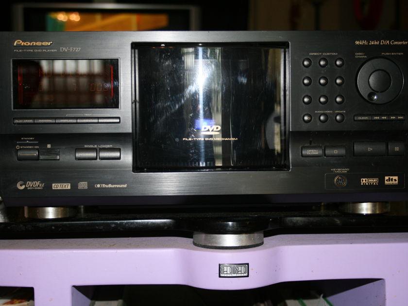Pioneer DVF727 File type DVD player