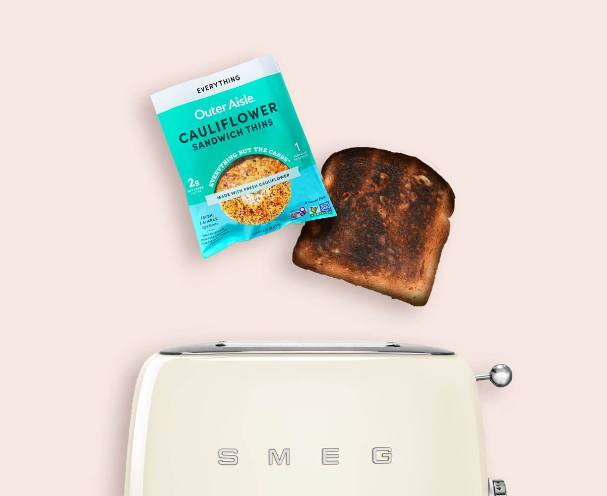 burned toast coming out of toaster