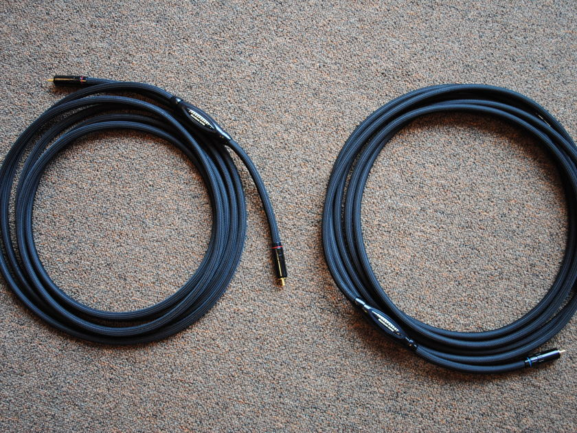 Transparent MLS15 MM1 Technology RCA Interconnects