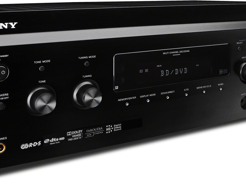SONY ES 7.2 Channel AV Home Theater Receiver STR-DA3700ES Black in Mint Condition