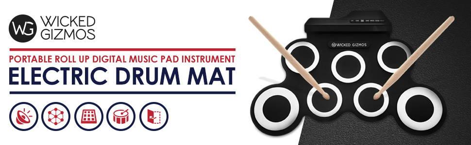 Electric Drum mat