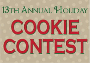 Image for Register for the 13th Annual Cookie Contest on Dec. 2