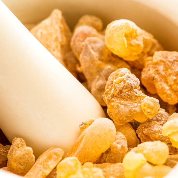 Natural skincare. Frankincense