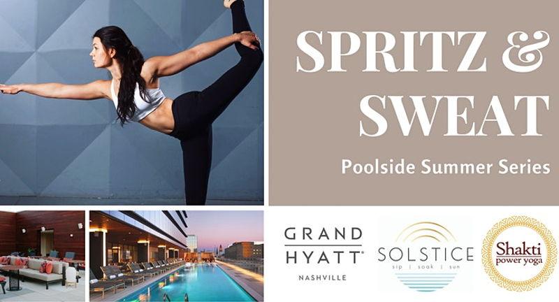Spritz and Sweat with Shakti Power Yoga