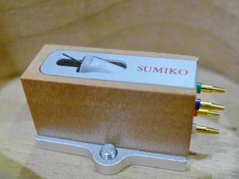 Sumiko Pearwood Celebration II MC phono cartridge Brandnew. Free worldwide shipping !