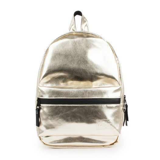 Рюкзак из экокожи GOOD LOCAL Daypack Eco S W/Zip Glossy Gold