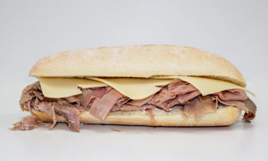 Big Star Sandwich Roast Beef,Demi-Glace Gravy