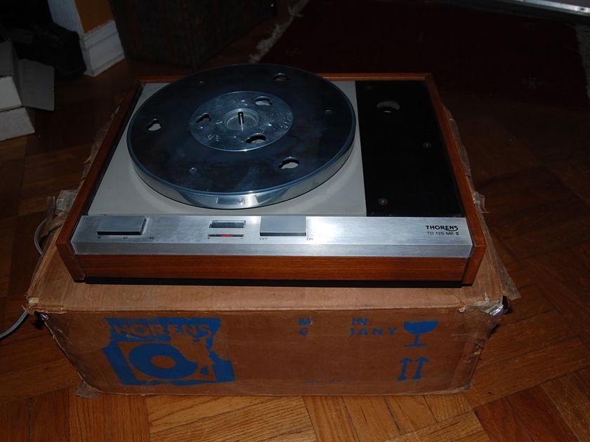 Thorens TD 125 mk2 -original and updated