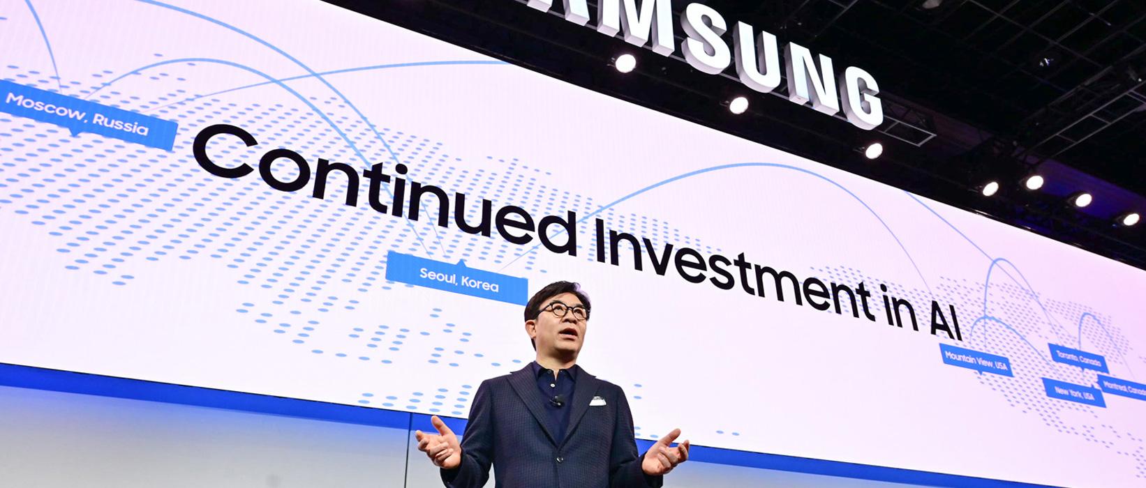 CES 2019: A Samsung bemutatja a csatlakoztatott életmód vízióját
