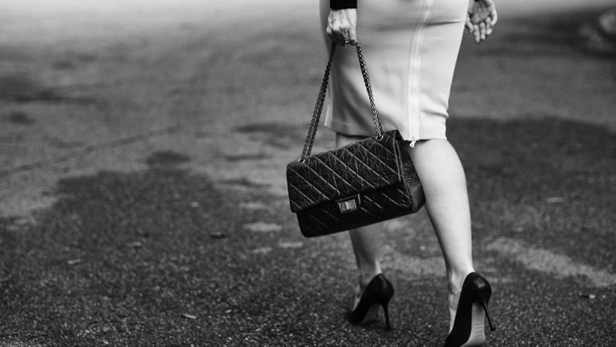 vintage 2.55 Chanel bag