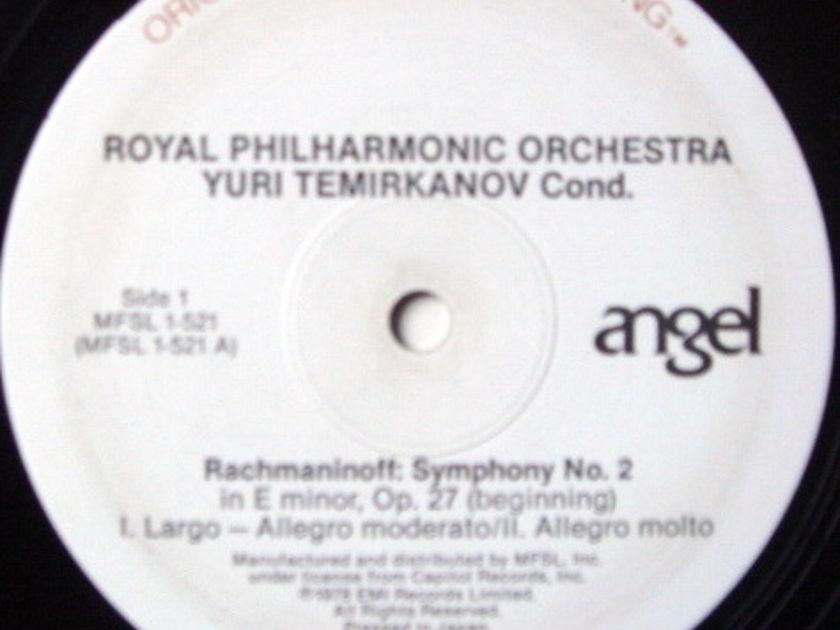 ★Audiophile★ MFSL / TEMIRKANOV, - Rachmaninoff Symphony No.2, NM-!