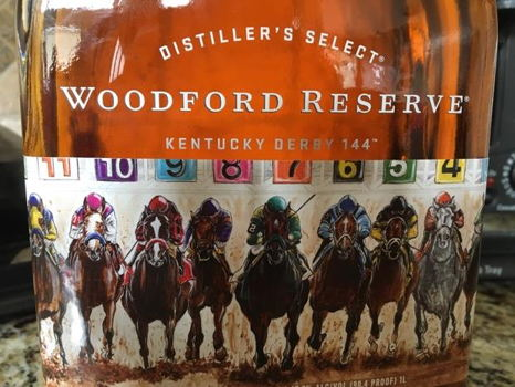 Woodford Reserve KY Derby Limited Edition Print and Bottle
