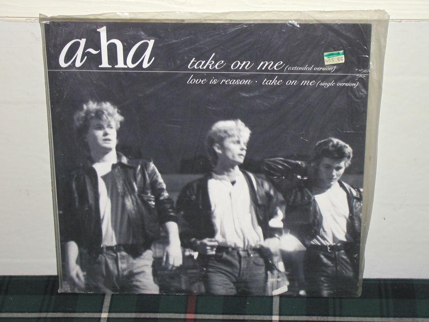 A-HA - Take On Me UK 45RPM 12er SEALED TAS!!!