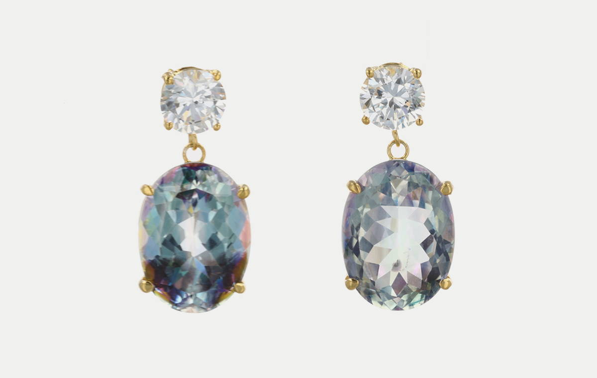 Mystic Gemstone Earrings