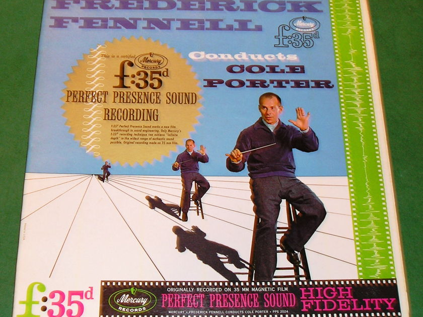 Frederick Fennell Conducts COLE PORTER - MERCURY Perfect Presence MONO f:35mm FILM MASTER