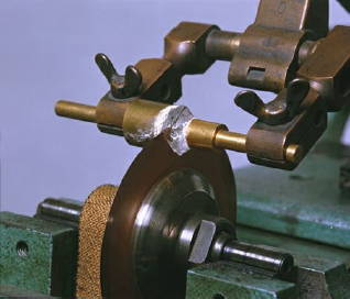 sawing stage of the diamond making