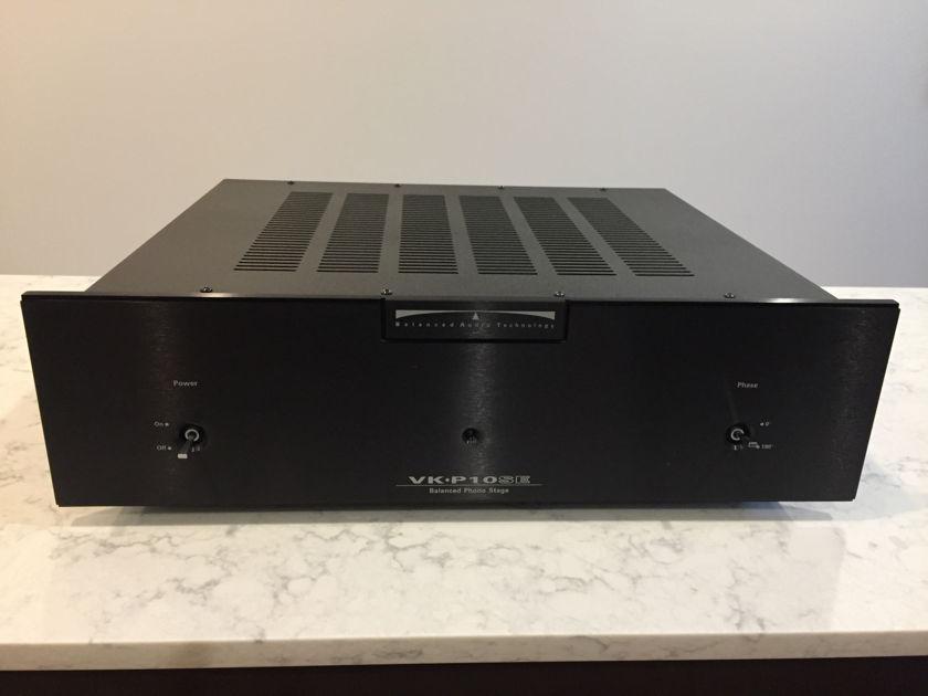 Balanced Audio Technologies (BAT) VK-P10SE Phono Preamp (Hot-Rodded)