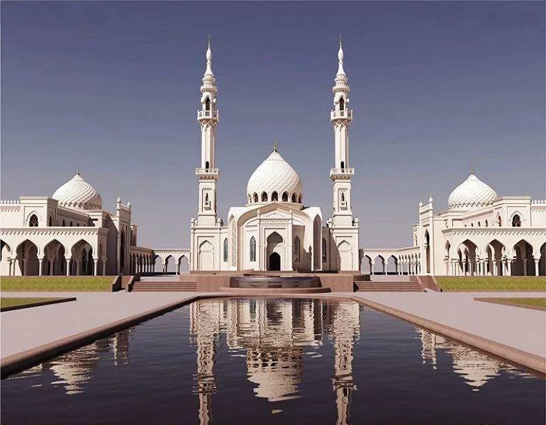экскурсия вболгар: белая мечеть