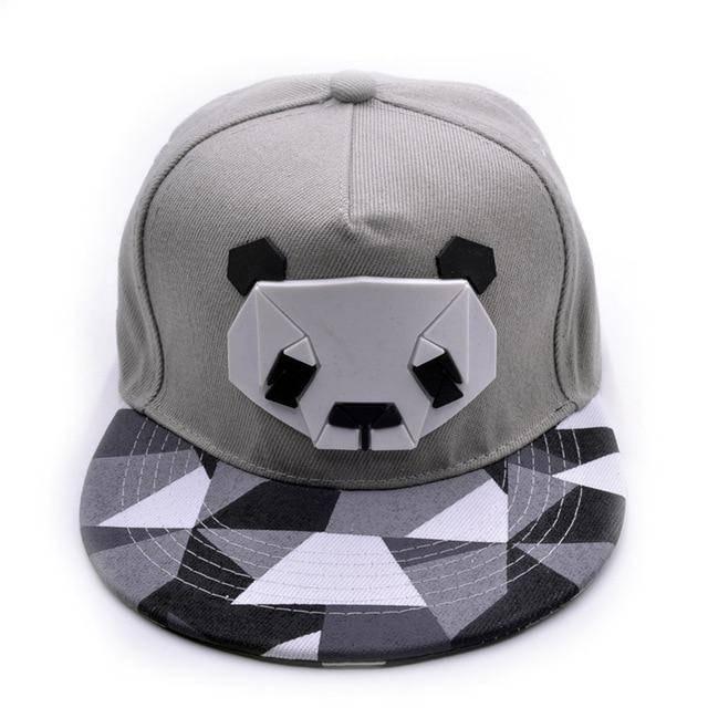 snapback panda grise