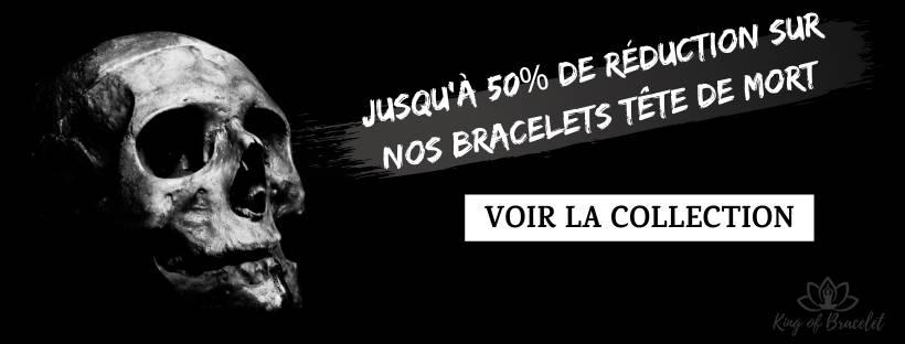 Bracelets Têtes de Mort - King of Bracelet