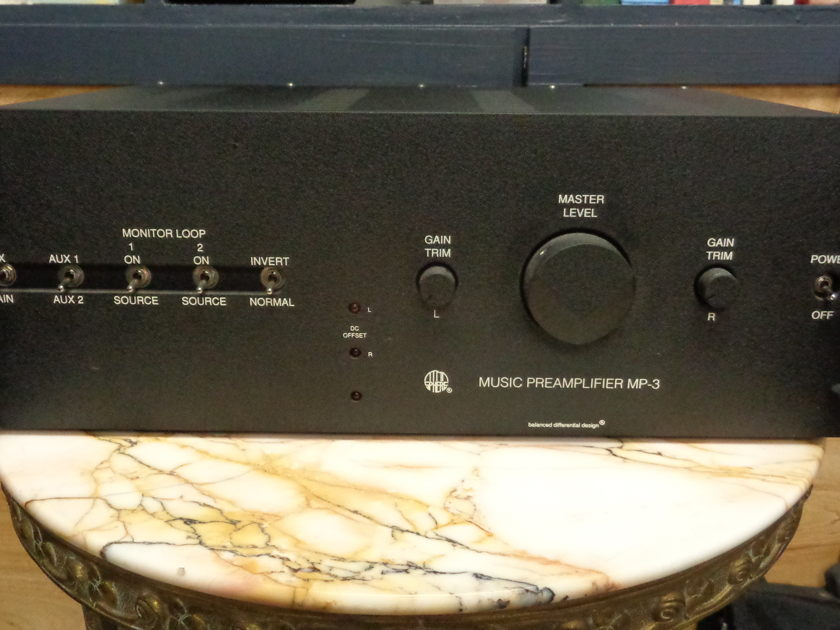 Atma-Sphere mp-3 with Phono