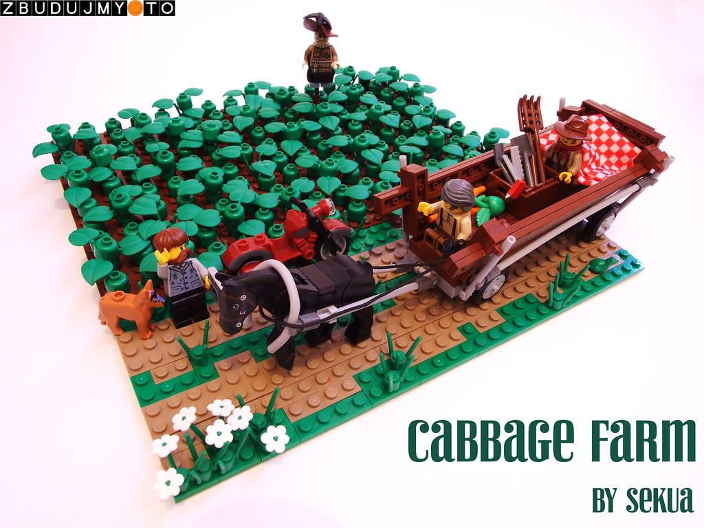 lego cabbage farm