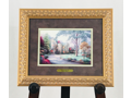 """Beyond Summer Gate"" - Thomas Kinkade Print"