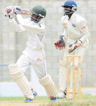 Cricketer Damario Goodman
