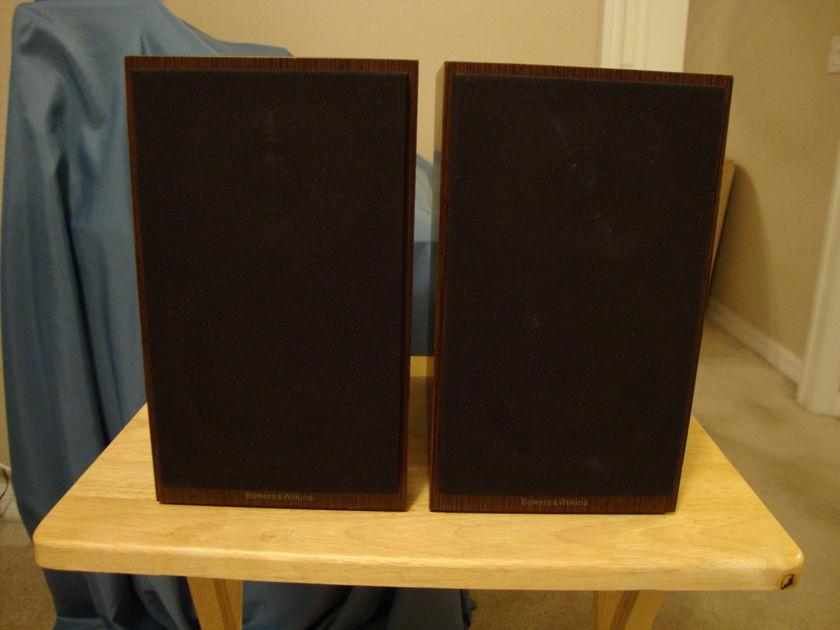 B&W CM-1 Bookshelf Speakers Priced For Quick Sale