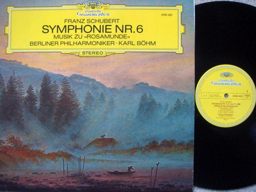 DG / Schubert Symphony No.6, - BOHM/BPO, MINT!