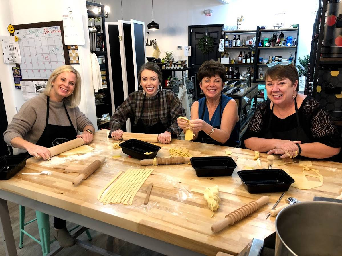 Pasta Crafting Class a Success!