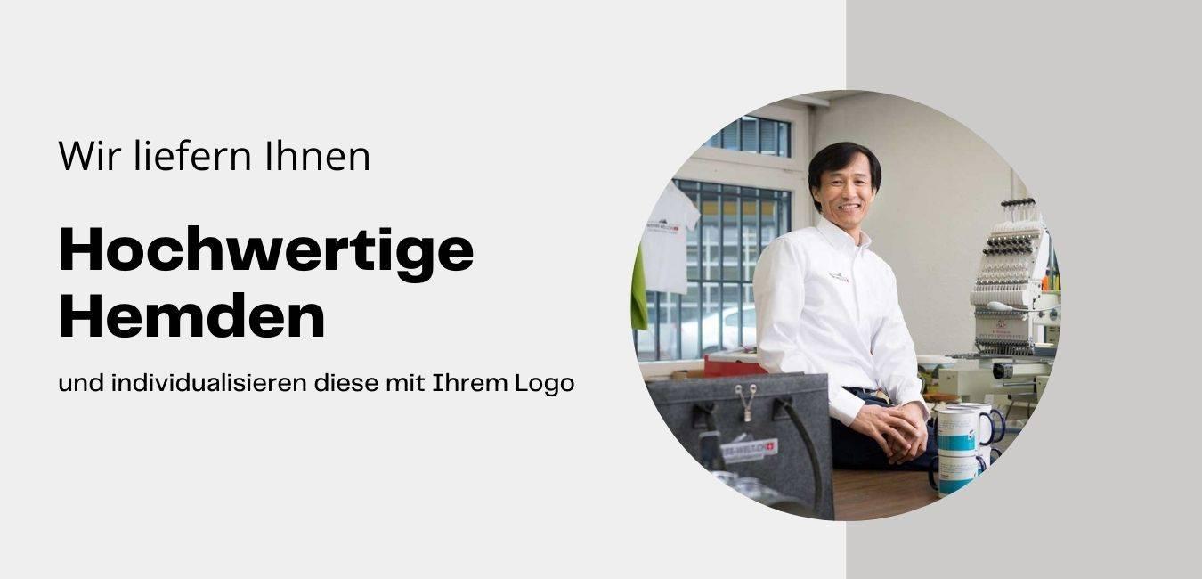 Hemden bedrucken Hemden mit Firmen Logo bedrucken lassen