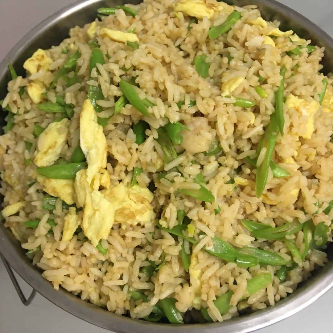 May 19th, 20 - fried rice with french beans. Requested by gal.