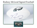 Rodney McLeod Signed Football