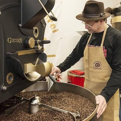 Handwerk Kaffeerösten