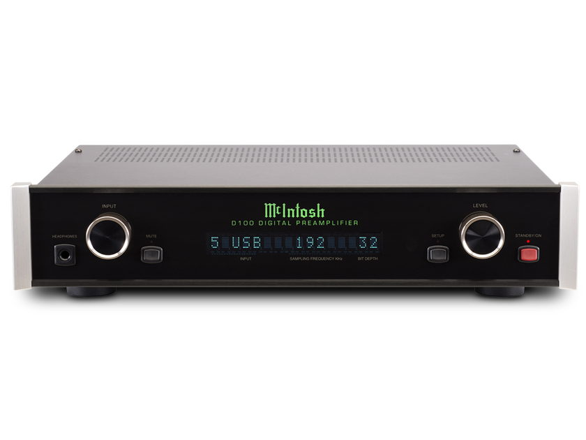 McIntosh D100 Digital Preamplifier