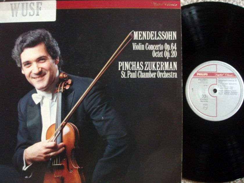 Philips Digital / ZUKERMAN, - Mendelssohn Violin Conerto, MINT!