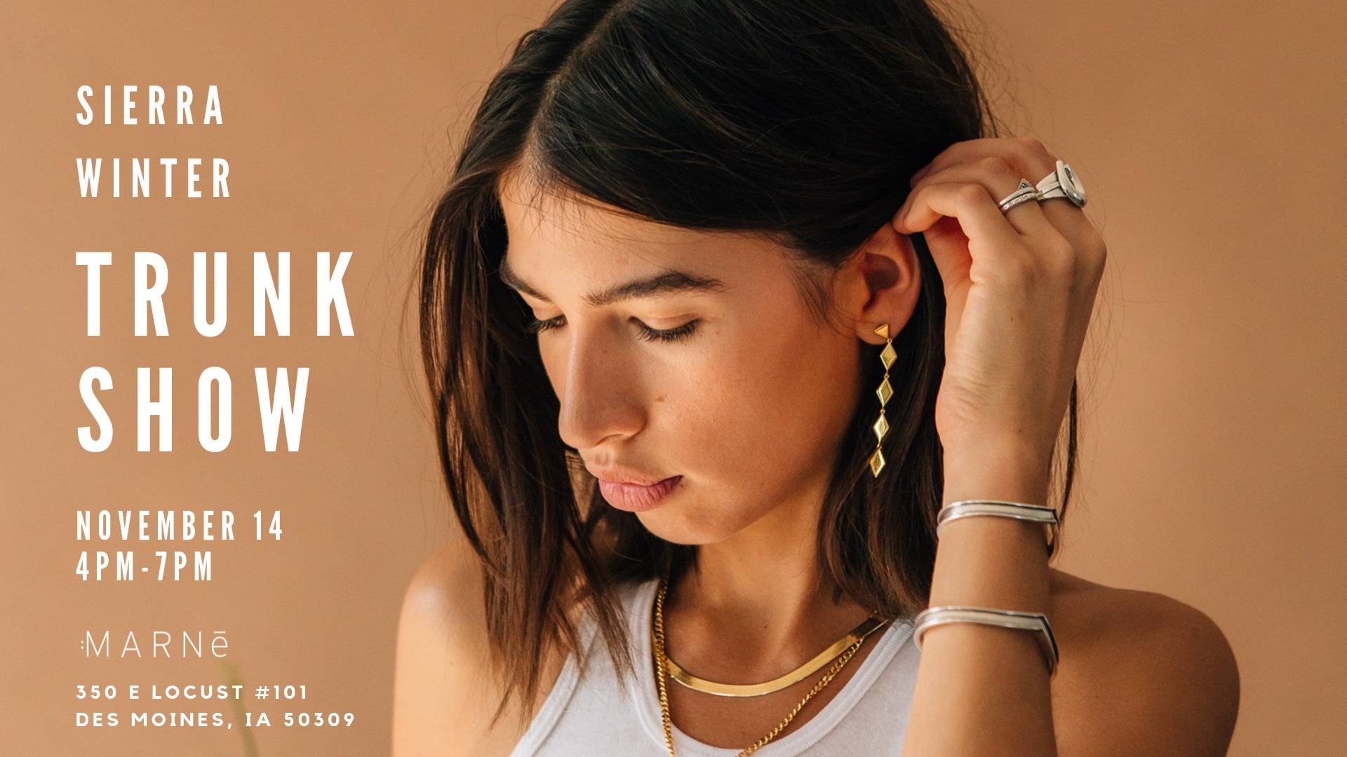 Marne Trunk Show Event Graphic