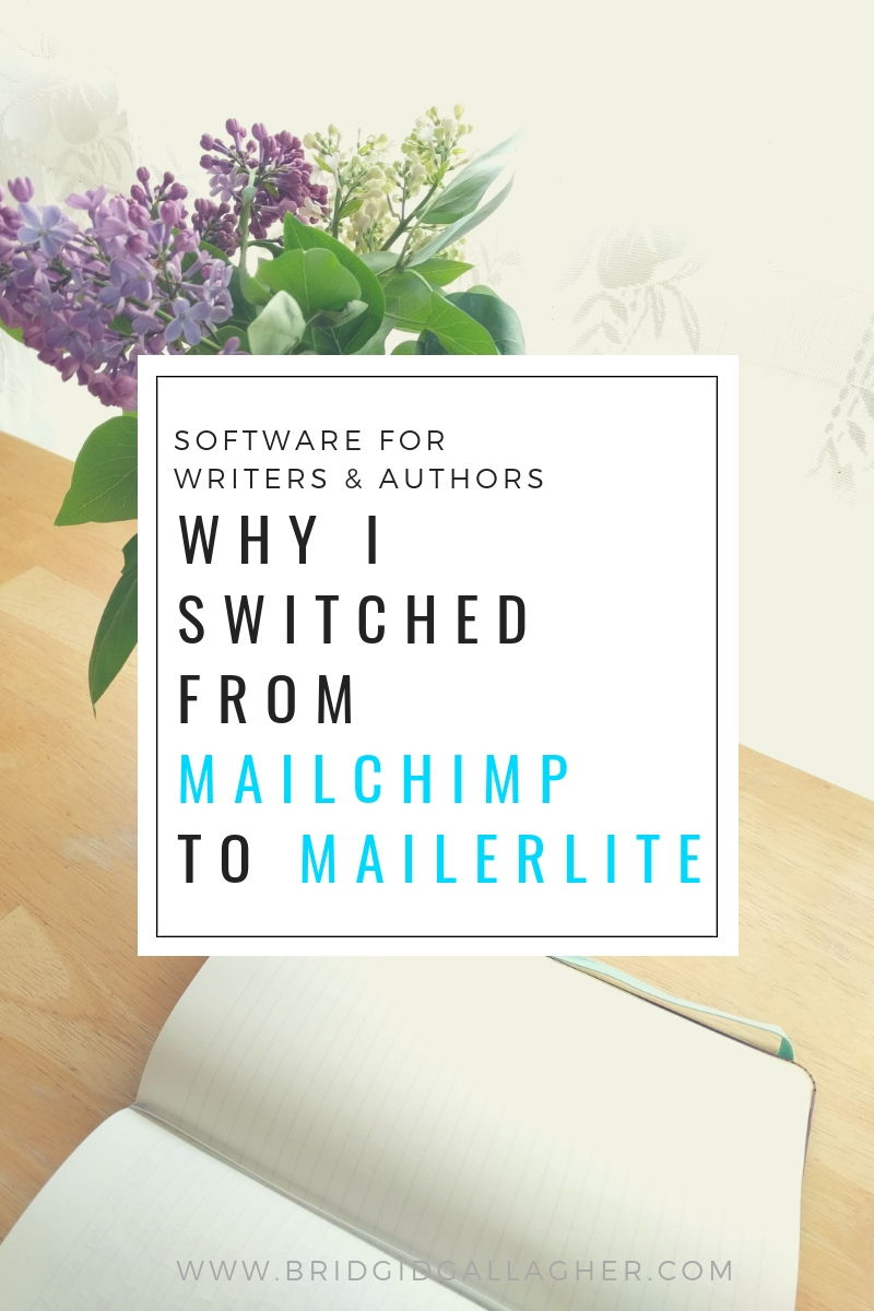 Why I switched from MailChimp to MailerLite // read the post on www.bridgidgallagher.com