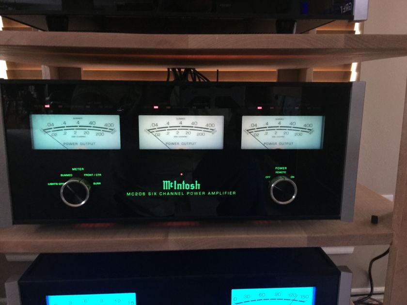 McIntosh MC206 McIntosh MC206 Six Channel Amplifier - Excellent Condition