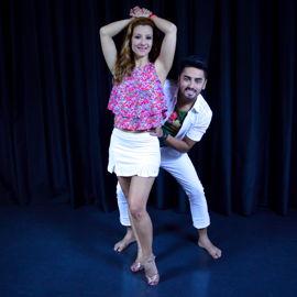 Jotta Júnior e Nevenka Garcia