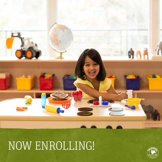 Now Enrolling Preschool