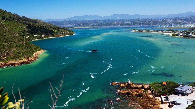 View of Knysna Lagoon, South Africa