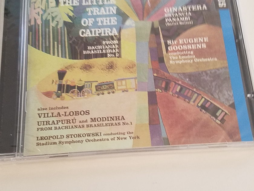Everest Sir Eugene  Goossens   - Villa Lobos The Little Train of the Caipira CD