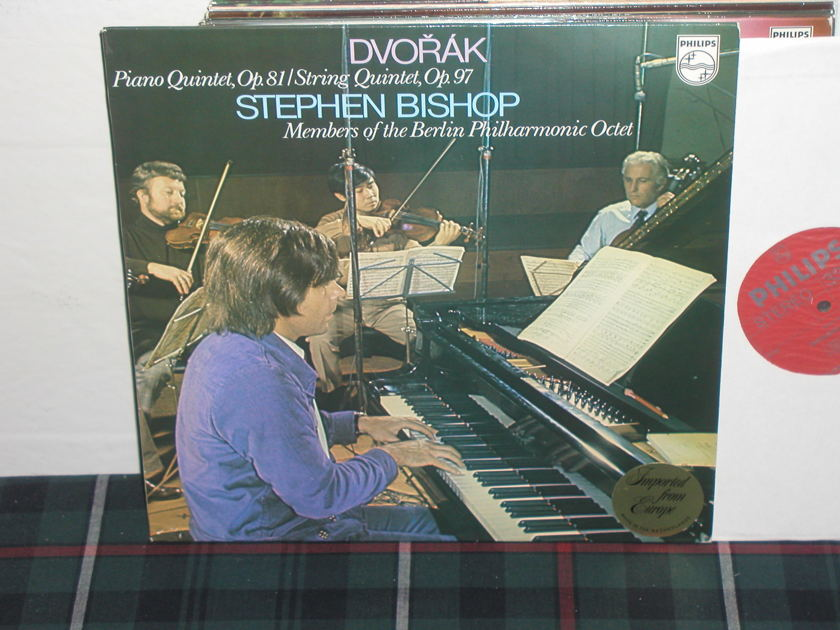 Bishop/BPO - Dvorak String Quintets Philips Import Pressing 6500