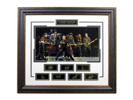 Bruce Springsteen Masterpiece Collage w/ Facsimile Signature