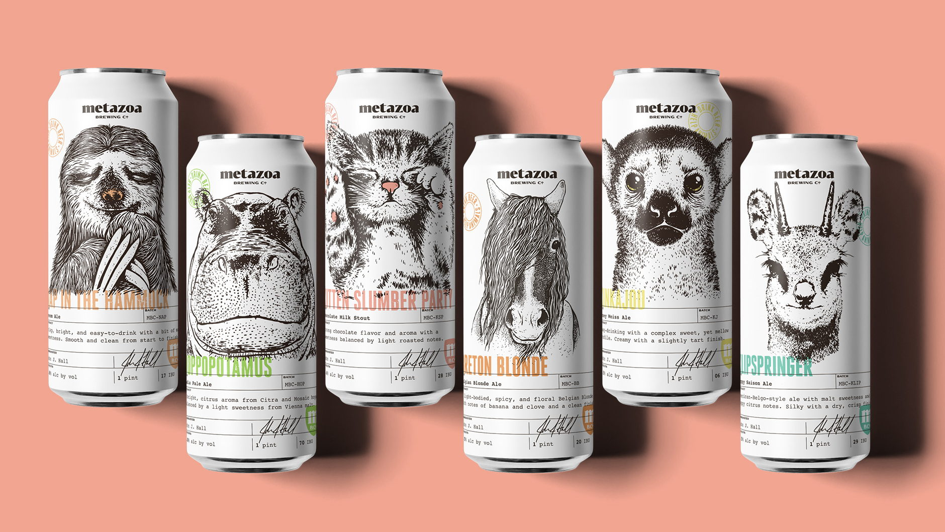 These Adorable Beer Cans Were Made With Animal Lovers In Mind Dieline Design Branding Packaging Inspiration