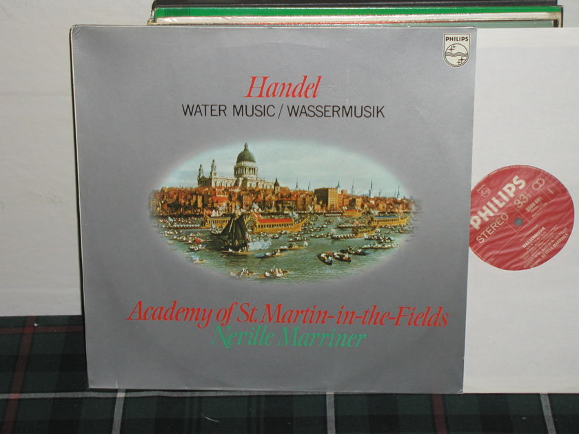Marriner/AoStMitF - Handel Water Music Philips Import Pressing 9500