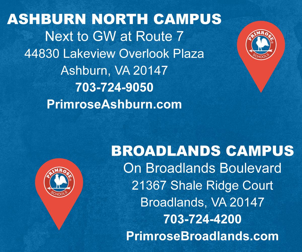 Ashburn North Campus and Broadlands Campus in Virginia